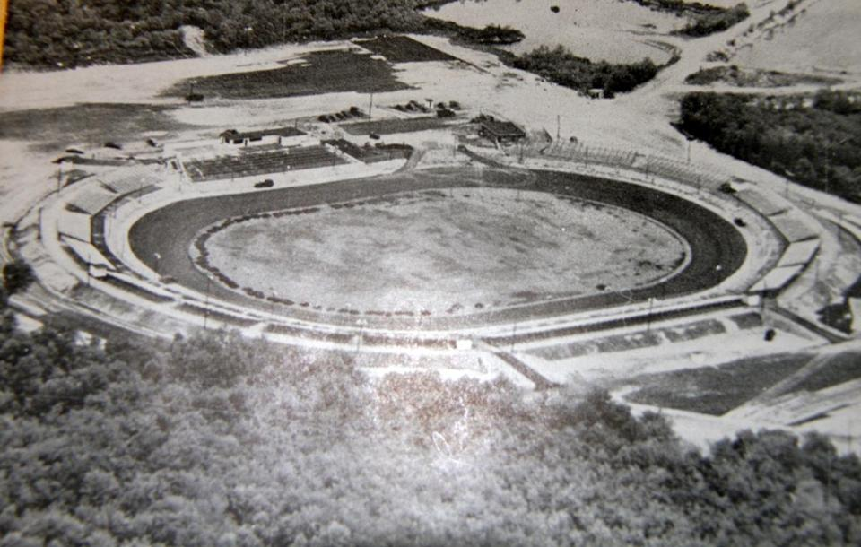 Norwood Speedway track champion in 1970 George Savary joked that he never came through the door, only through the window, when he was racing.